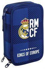 Estuches escolares plumier del Real Madrid